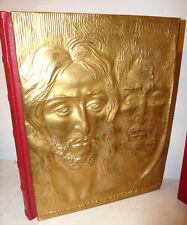 LA SINDONE - Dino Editore 1975 Arte Sacra Scultura Bronzo Ferri Lorenzo Folio
