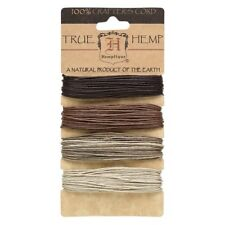 120' Black Brown Grey Mixed Colors 1mm Hemp String Cord