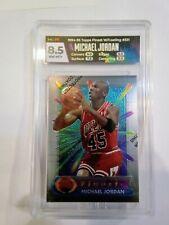 Michael Jordan Card 1994-95 Topps Finest W/Coating #331 HGA 8.5 NM-MT Label/Card