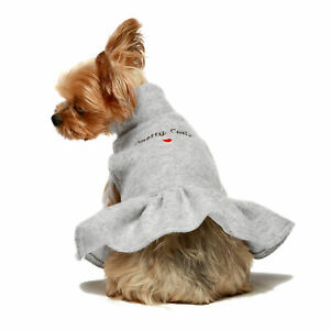 Fitwarm  Embroidery Pretty Cutie Thermal Dog Clothes for Dog Dresses Party dress