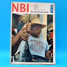 DDR NBI 44/1965 Fußball Kuba Charlie Chaplin Motor Jena Wildau Ziergeflügel H