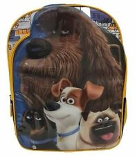 NEW The Secret Life of Pets Universal Backpack Large School Kids Boys  Book Bag