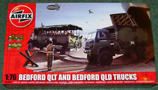 AIRFIX Bedford QLT & Bedford QLD Trucks Neuf Comme neuf & Sealed 1/76