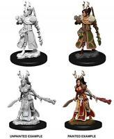 WZK73701 Dungeons & Dragons Nolzur`s Unpainted Miniatures W9 Female Human Druid