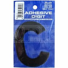 Castle Promotions C - 3in. Adhesive Digit - Black (DPX12C) - Pack of 12