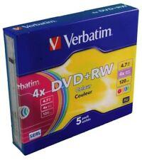 CD, DVD y Blu-ray discs Verbatim para ordenadores y tablets con 4,7GB de unos datos
