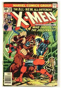 X-Men 102 Vs. Juggernaut! Lilandra revealed! Claremont 1976 Marvel Comics B907