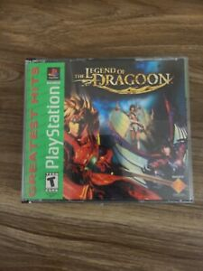 The Legend of Dragoon (Sony PlayStation 1 PS1) CIB COMPLETE IN BOX RARE