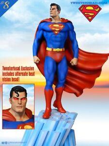 Tweeterhead Superman Dc Comics EXCLUSIVE Super Powers Maquette In Stock New