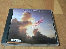 Pierre Porte : Emergence - CD Forlane