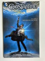 Constantine Volume 4 The Apocalypse Road -DC Comics New 52 Graphic Novel TPB OOP