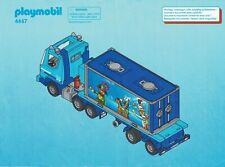 Playmobil Bauanleitung 4447 Container-Truck