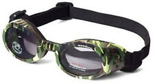 Doggles Dog Saftey Goggles ILS Camo Frame /Smoke Lens Size: X Small