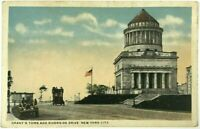 Street View Cars Grants Tomb Riverside Drive New York City NY Vintage Postcard