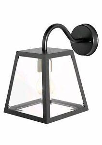 Outdoor Wall Light URSA in Black IP44 NEW