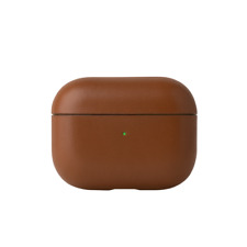Native Union Brown Leather Case – Genuine Italian Leather Case for AirPods Pro