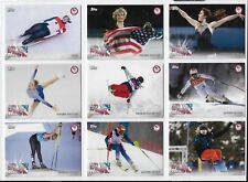 COMPLETE 2018 TOPPS OLYMPICS DID YOU KNOW (17) CARD FULL SET ~ CHLOE KIM ~ VONN