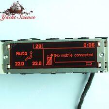 Original Peugeot 307 407 408 Citroen C5 Red color Display Screen 12 pin Genuine