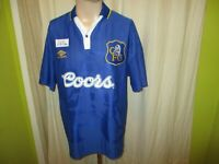 "FC Chelsea London Original umbro Heim Trikot 1995-1997 ""coors"" Gr.L"