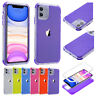 For iPhone 11 / 11 Pro / 11 Pro Max Case Shockproof Silicone Hybrid Bumper Cover
