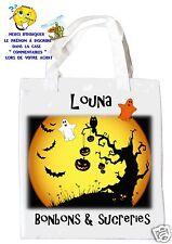 sac halloween shopping sac à bonbons sac à cadeaux  réf 14