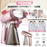 1500W Electric Garment Clothes Hanging Steam Iron Steamer Spray Brush Handheld
