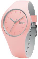 Ice-watch Reloj de mujer hielo Duo Invierno PERLA BLUSH M 012971