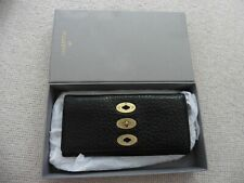 Mulberry Black Brynmore Grainy Leather Continental Wallet Purse