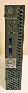 Dell OptiPlex 5050 Micro Mini PC i7-7700T  16GB 256GB SSD 500GB HDD Win 10 Pro