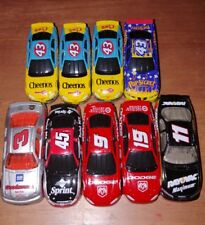 Lot of 9 Nascar 1/64 diecast cars Various Makes