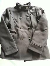 Manteau caban lainage noir unisexe 10 ans
