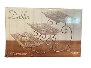 Dublin by Godinger 3 Tier Serving Set. New in Box!