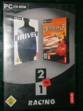 Atari Twinpack: driver 1 + V-RALLY 3 (PC, 2005)