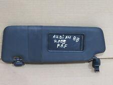 AUDI A4 B8 2008 PASSENGER SIDE FRONT SUN VISOR WITH MIRROR P/N: 8K0857551