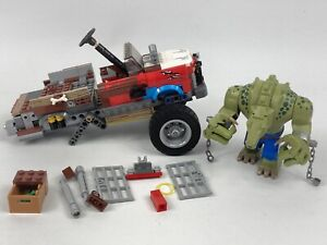 Lego PARTS Killer Croc And Incomplete Tail-gator 70907 SPARES Parts Lot