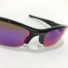 Oakley Sunglasses * Flak Jacket 26-219 Pol Black w/ 00 Red Iridium Polarized