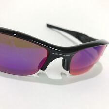 Oakley Sunglasses * Flak Jacket 26-219 Pol Black w/ 00 Red Iridium Polarized