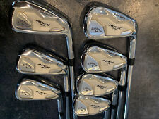 TOUR ISSUE CALLAWAY APEX PRO DOT 19 4-PW IRONS Dynamic Gold Iron Set TC Serial