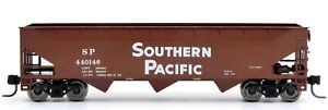 LIMITED EDITION!  TT-Scale 1:120 Zeuke-MTB 3-bay Hopper - T&NO Southern Pacific