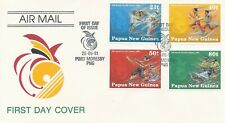 Papoea-Nieuw-Guinea / Papua New Guinea - FDC - 9th South Pacific Games 1991