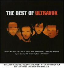Ultravox - Very Best Greatest Hits Collection - RARE 80's Synth Pop CD Midge Ure