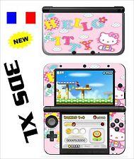 SKIN STICKER AUTOCOLLANT DECO POUR NINTENDO 3DS XL - 3DSXL REF 81 KITTY