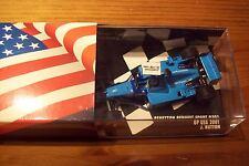 1/43 BENNETON B201 JENSON BUTTON 2001 USA GP WITH SLEEVE