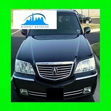 Fits 99 00 01 02 03 04 Acura Rl Chrome Trim For Lower Grill Grille 5Yr Warranty (Fits: Acura)