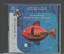 Tiziano Scarpa VENEZIA è UN PESCE  il Narratore 2002 Audiolibro 2 CD-Audio