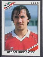 Panini - Mexico 86 World Cup - # 197 Georgi Kondratiev - SSSR