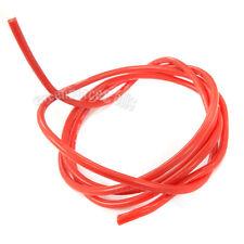 2m Medidor 200cm Rojo 14AWG 14awg SUAVE CABLE DE SILICONA 3kv-dc 150°C 3239