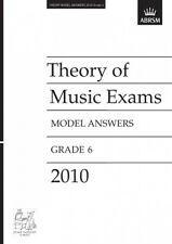 ABRSM Theory of Music Exams, Grade 6, 2010 Model Answers AB92998