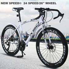 "Road Mountain Bike/Bicycle NEW SPEED® Men/Women 24Speed 26"" Wheel Carbon Frame"