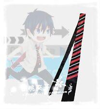 Ao no Blue Exorcist Cosplay Rin Okumura  Tie Handmade Free Shipping
